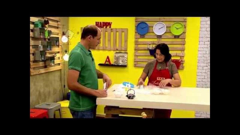 Ateliê na TV Rede Brasil 04 08 15 Deise Cotrim e Geisa Lentini