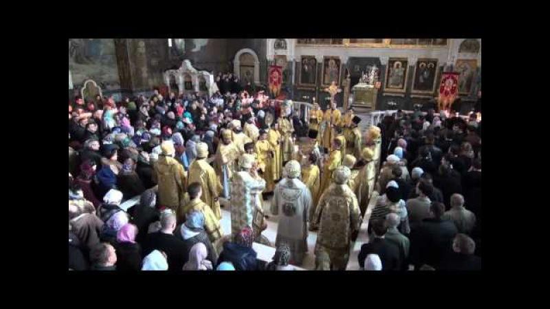 У Неділю про Страшний суд Предстоятель УПЦ звершив Літургію в Києво-Печерській Лаврі
