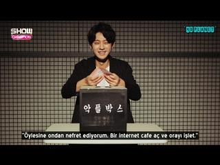 160302 Show Champion Cruelty Box - Jung Joonyoung Acımasız Yorumları Okuyor (Türkçe Altyazılı)