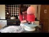 (ТОРТ-РЕЦЕПТ-VK) Свинка Пеппа 3Д торт, Как сделать торт стоял свинка Пеппа, декорирование торта, оформление торта, мастер класс.