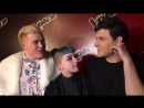 Message from Team George - Harry Fisher, Cody Frost, Vangelis (The Voice UK 2016
