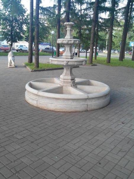 Житель Чистополя пожаловался на выключенный фонтан в сквере Молодежный – «Народный контроль»