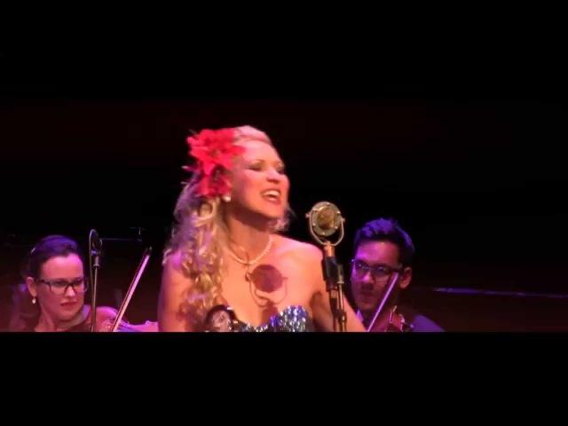 HOT HEAD -Gunhild Carling - Trombone tap dance -JAZZ swing - string orchestra Musica Vitae