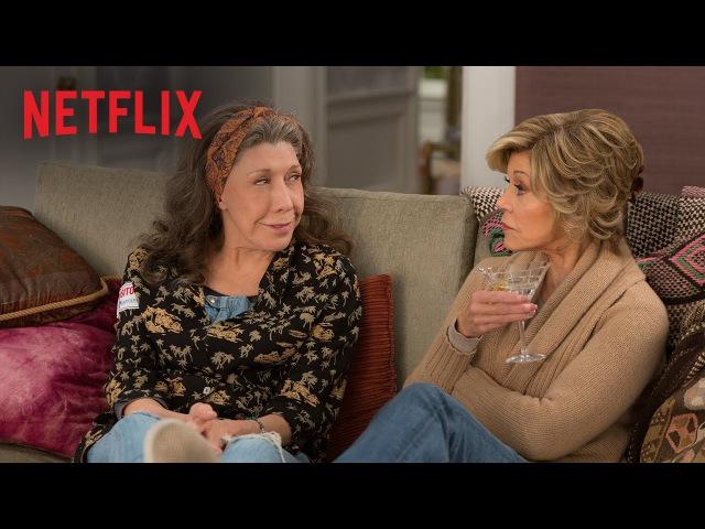 Трейлер «Грейс и Фрэнки» 2 сезон (2016)
