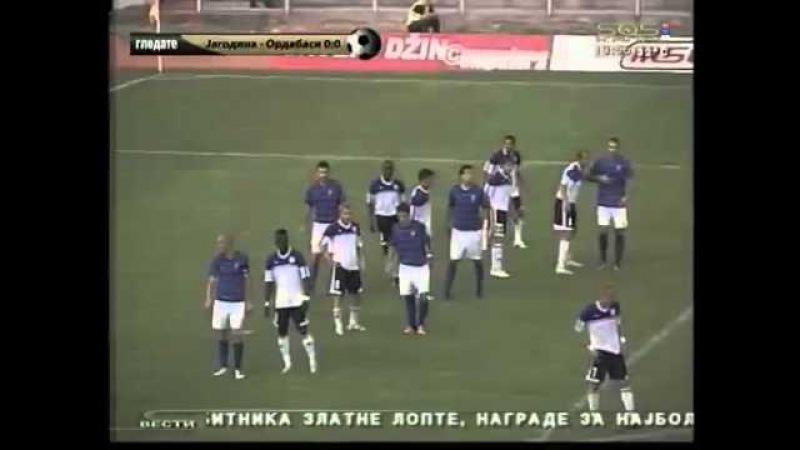 Jagodina - Ordabasi [ Fudbal - Kvalifikacije za Ligu Evrope ] 05.07.2012
