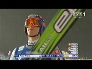 Peter Prevc - 127,5 m - Lillehammer 05.12.2009 - Debut in World Cup