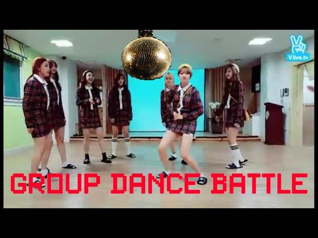 [Cut]151126 TWICE(트와이스) Random Group Dance Battle(VIXX,RV,MONSTA X,17,OMG,LOVELYZ,BTS,EXO,GOT7)