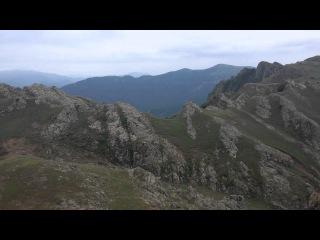 Tovuz - 2500 metr yüksəklikdən dağ kəndlərinə baxış.. Азербайджанские горы