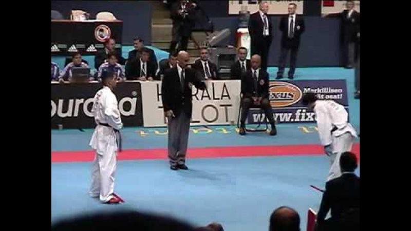 WKF Karate 2006 Aghayev Round 4 Tampere Finlan
