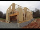 Как Построить Каркасный Дом. Обзоры Каркасных домов в США 33б