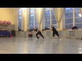 Связка от сестер Михайлец (Танцы на ТНТ) по контемпу