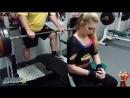 Maryana Naumova 170KG Board Press 19 05 14