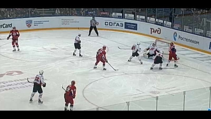 Лучшие моменты матча Локомотив - Авангард 03.02.16