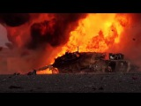 ISIS destroys Iraqi Army M1 Abrams tank with insane amount of explosives