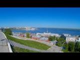 Прогулка по Нижнему Новгороду (+ тест экшн камеры sj7000)