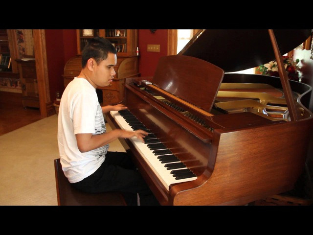 DEMONS - IMAGINE DRAGONS PIANO COVER PLAYED BY BLIND 17 YR OLD PIANO PRODIGY KUHA'O