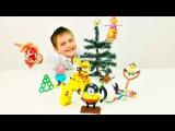 Игры для мальчиков. Егор и новогодний квест игрушек. Щенячий патруль, Энгри бердз и Миньоны.