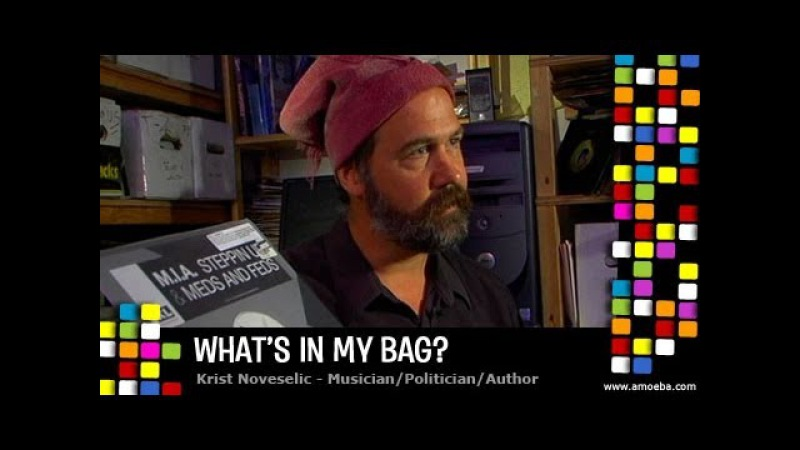 Krist Novoselic - What's In My Bag?