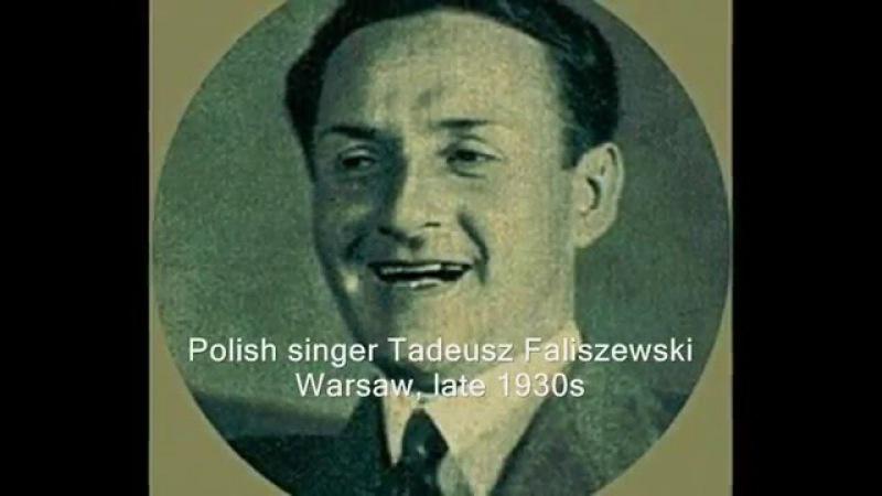 Old Polish tango Tadeusz Faliszewski Ork H.Golda - Panna Andzia ma wychodne, 1936