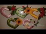Сердечки-магниты из картона и лент своими руками Сама Я mk.ru