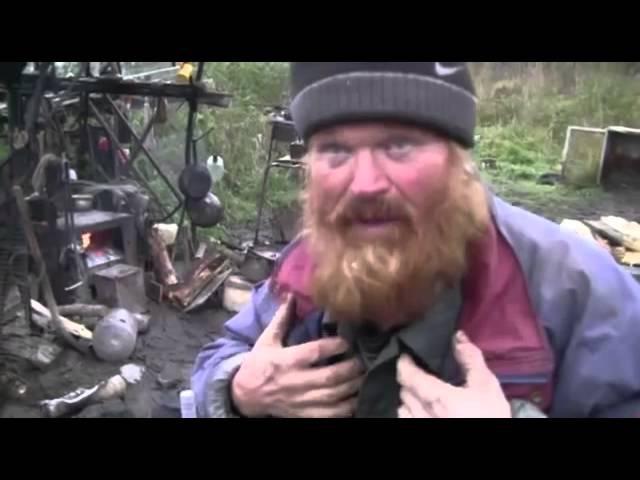 30 лет бомжом - Первый Русский Робинзон