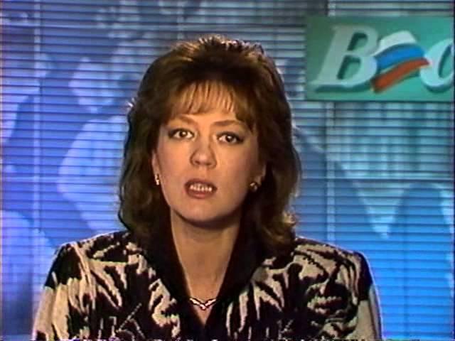 Развал СССР 1992 январь 02. Светлана Сорокина в программе ВЕСТИ -7 часть