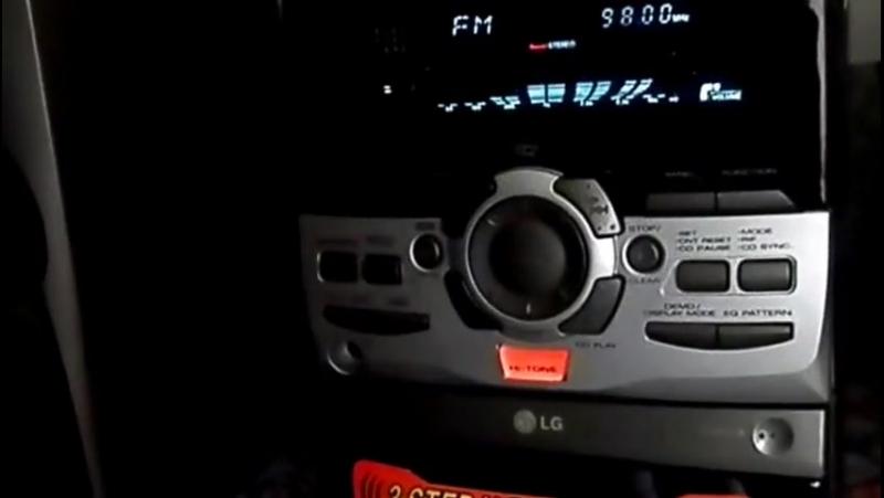 Стерео прослушка аудио трэка по радиочастоте Fm диапазона