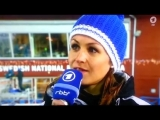 Магдалена Нойнер в эфире канала ARD