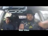 Когда в машине слушаешь музыку