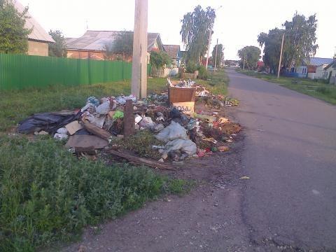 Житель Чистополя пожаловался на свалку мусора у контейнера на улице Крупской – «Народный контроль»