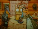 Мультфильм по мотивам русской народной сказке Лиса и журавль