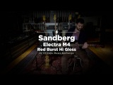 Quick Riffs Sandberg Electra M4 Red Burst Hi Gloss Bass Demo