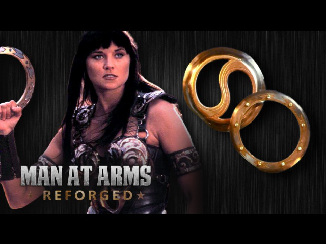 Chakram (Xena: Warrior Princess) - MAN AT ARMS: REFORGED