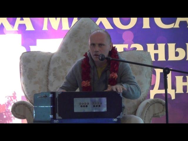 Е.М. Кришна Баларам прабху - «Уличная Санкиртана Профессиональный подход» - Часть 1 - 25.09.2015