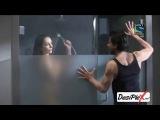 Shahrukh Khan with a hot lady in bathroom - 61st Filmfare Awards 2016