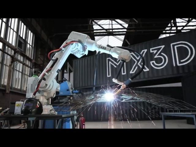 Producing the world's first 3D-printed bridge with robots is just the beginning - Joris Laarman