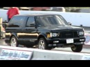 Fast 10 Second GMC Typhoon Drag Race - NEW Best 10.86 @ 125mph Fast SyTy