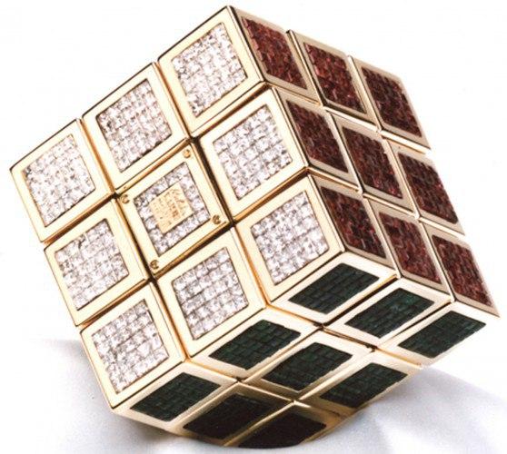самы дорогой кубик рубика
