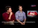 Бэтмен против Супермена - Бен Аффлек, Генри Кавилл и Джем