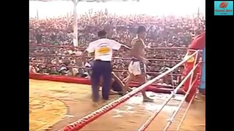 Samyja žorstkija bai biaz pravił: Lietchviej kchmierski boks : Boj biez palčatak