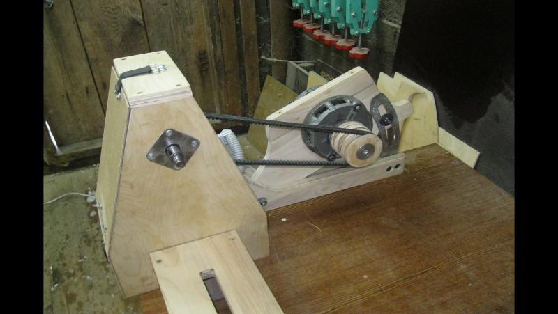 Токарный станок своими руками Part 1/3. The homemade lathe