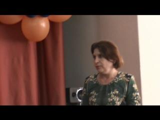 Последний звонок. Поздравление от Тамары Борисовны - первой учительницы.
