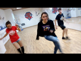 Школа танца JLT school. Dancehall. Декабрь 2015.Марина Tatanka.