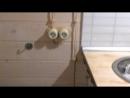 Ретро проводка в деревянном доме выполнена компаниией Электромонтаж