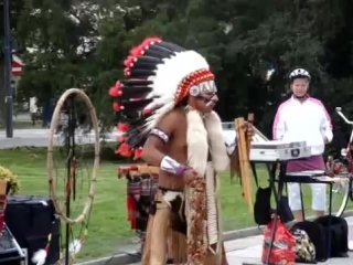 Indianie winoujcie 09_2011, Straenmusiker, Indian Sound, Apache - ein echtes Supertalent