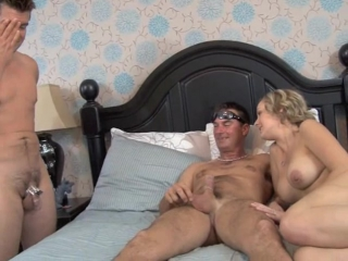 Mistress Chanel - Chastity Husband Has To Suck Wife's Lover