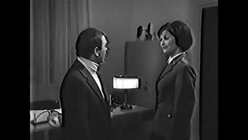Беги, чтобы тебя поймали (Венгрия, 1972) пародия на шпионские фильмы, дубляж, черно-белая советская прокатная копия