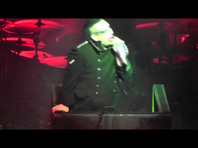 Marilyn Manson - Antichrist Superstar - Live Boston, MA (January 26th, 2013) HOB 1080HD