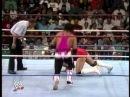 Bret Hart vs. Louie Spicolli WWF 1991