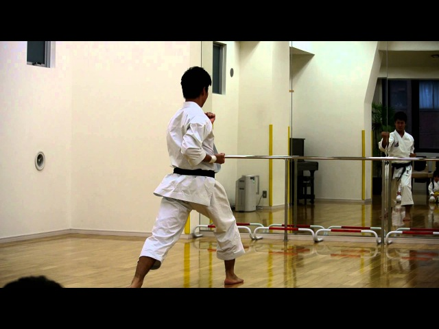 『heian nidan』2012 World Senior Karate Championships Team kata Champion Koji Arimoto